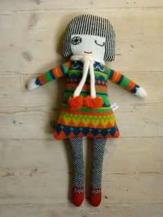 Lambswool Knitted Dolly by