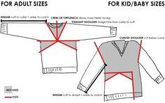 DE TODO UN POCO: Convierte una chompa en un pantalon para tu bebè