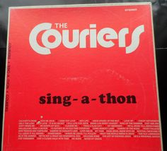 The Couriers - Sing-a-thon: Album, Comp, Dlx For Sale Give Me Jesus, My Jesus, Abide With Me, Give It To Me, Swing Low Sweet Chariot, Cleanse Me, Lp Album, Saved By Grace, What The World