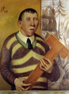 Retrato de Franz Radziwill (1928) -- Otto Dix