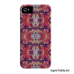 Artsy iPhone 5 Case  Delicate  Funky Abstract Art by ingridsart, $37.00