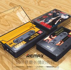 Tape portable power bank,10000mah Remax power bank,hot sale Remax brand product