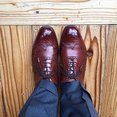 Edward Green 明るくなってきました #edwardgreen #edwardgreenmalvern #malvern #shoes #mensshoes #sotd #shoesoftheday #エドワードグリーン #エドワードグリーンマルバーン #マルバーン #紳士靴 #革靴