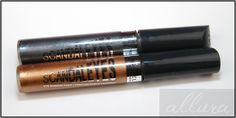 Rimmel shadow | Rimmel Scandaleyes Eye Shadow Paints in Slate Grey & Golden Bronze ... - I use these on myself all the time. Used over a primer, then blend beautifully but will not budge once set. I layer shadows over them to create depth. I love how cooling they are to the eyes too! ~Aimee J'Adore