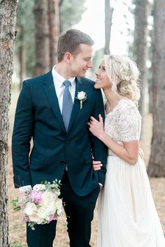 modest wedding dress with half sleeves from alta moda bridal. -- (modest bridal gowns) --