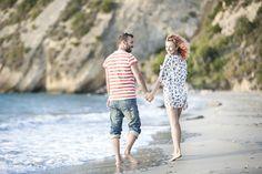 Beach pre wedding session of Eva and Giannis. #kefalonia photo by nikiforosphotography