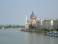Danube River in Budapest - Hungary
