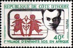 1973 Timbre: SOS Children's Village (Côte d'Ivoire) (SOS Children's Village) Mi:CI 425,Sn:CI 354