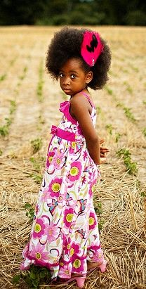 natural hairstyles for little black girls  What a pretty little girl!!!!