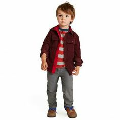 Brushstroke Stripe Outfit