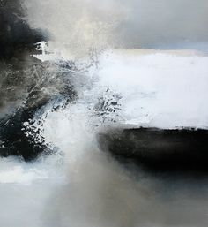 love and fear ~ medium unknown ~ by eelco maan - looks like an abstract seascape to me! Landscape Art, Landscape Paintings, Abstract Expressionism, Abstract Art, Abstract Paintings, Oil Paintings, Painting Art, Art Graphique, Mixed Media Painting