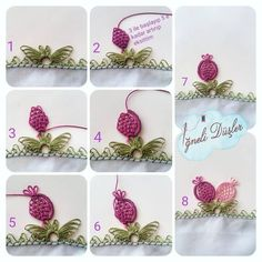 ORDER FOR @ ignelidusler save the model – don't forget to do it – you must … - Tatting Ideen 2019 Crochet Unique, Crochet Lace, Nara, Tatting, Crochet Borders, Needle Lace, Bargello, Needlepoint, Needlework