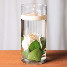 Affordable / cheap vase from Dollar Tree for affordable wedding table centerpieces