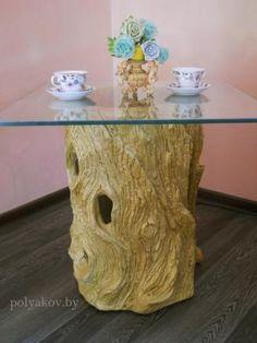 coffee table concrete