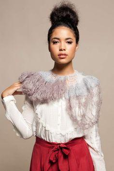$175 M. Kirana Jellyfish Collar #fashion