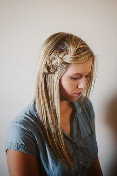 messy braid #promdress #coniefoxdress