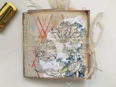 Hi Everyone,  I was so happy to work with Coral Blues again this month, I am on this paper bag journal craze at the moment and can't seem to stop making