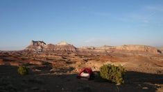 dispersed desert camping near San Rafael Swell