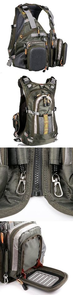 Vests 65982  Maxcatch Fly Fishing Backpack Adjustable Size Mesh Fishing  Vest Pack BUY IT NOW ONLY   94.06 f3721d6bc2