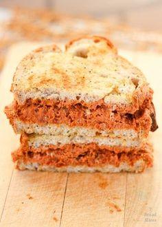 Receta de sandwich de mascarpone y tomates secos