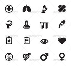 Medical Icons — Vector EPS #vector #united • Available here → https://graphicriver.net/item/medical-icons/7731069?ref=pxcr