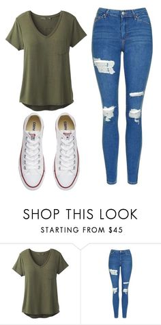"""""""Untitled #524"""" by cuteskyiscute ❤ liked on Polyvore featuring prAna, Topshop and Converse"""