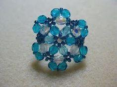 My Daily Bead: Ocean Blue Ring