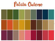 Resultado de imagem para paleta de cores pele outono