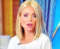 kelly ripa hair