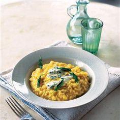 Butternut squash and creamy blue cheese risotto Recipe | delicious. Magazine free recipes