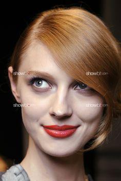 Christian Dior SS/2012, Backstage beauty.
