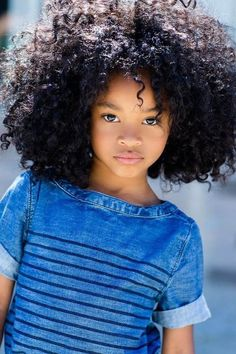 When looking for afro hairstyles for kids, try out some of the best low maintenance haircuts. These beautiful afro hairstyles make a statement on any day and look amazing. Beautiful Children, Beautiful Babies, Beautiful Smile, Gorgeous Hair, Curly Hair Styles, Natural Hair Styles, Natural Beauty, Pure Beauty, Pelo Afro