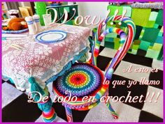 Wow !!! All in crochet !!!...Wow!!! De todo en crochet!!!