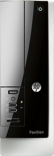 HP Geek Squad Certified Refurbished Desktop AMD E-Series 4GB Memory 500GB HDD #HP