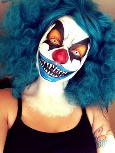 Resultado de imagen para big teeth clown makeup