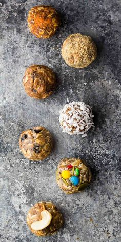 The ultimate guide to no bake energy bites.  SEVEN different ways to make them, tips and tricks, and how to make them ahead and freeze. I'm back again with an epic post for you!  New around here?  Check out these 7 Healthy Baked Turkey Meatballs and these 7 Easy Stir Fry Sauces You Can Prep Ahead…and don't...Read More