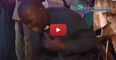 VÍDEO | Pastor en Nigeria cae endemoniado, durante ministración