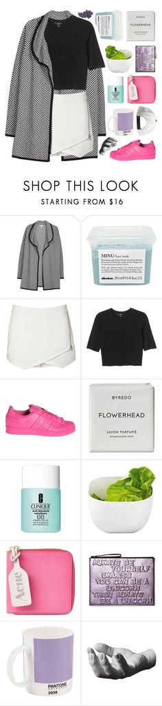 """""""TESTING TAGS. ♡"""" by samiikins ❤ liked on Polyvore featuring Joie, Davines, Witchery, Monki, adidas, Byredo, Clinique, Occa Maison, Acne Studios and Boyy"""