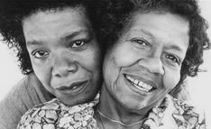 Maya Angelou and her mother ★