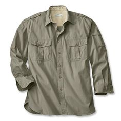 Just found this Safari Shirts for Men - Bush Shirt -- Orvis on Orvis.com!