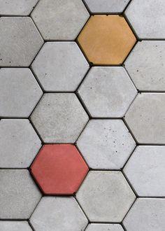 Concrete magnet TIE by Bentu Design