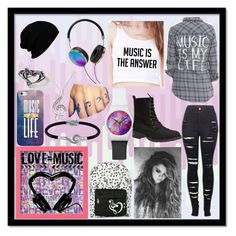 """Musical set"" by jinxkathrinestitched ❤ liked on Polyvore"
