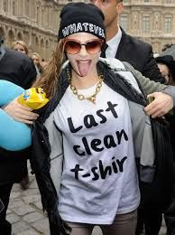 Image result for cara delevingne wearing tshirts