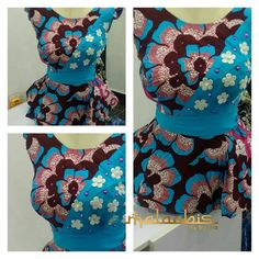 Ankara peplums are so in! Kano based fashion designer Maymunah Anka of MALAABIS_BY_MAYMZ shows more of very stylish and elegant about Ankara peplum tops. And yes to the ruffle and…