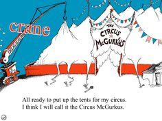 dr. seuss circus   ... Dr. Seuss's 'If I Ran The Circus,' The Dream Of The Circus McGurkus