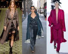 Seguindo os pijamas e as camisolas, os robes também saem de casa e ganham as ruas em looks bacanudos e cheios de estilo. Confere as imagens no blog.