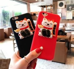 Lucky Cat Case For iPhone 6 6Plus 6S 6S+