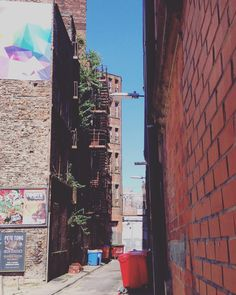 Back alley in Northern Quarter, Manchester Manchester, Times Square, Travel, Trips, Viajes, Traveling, Tourism, Outdoor Travel, Vacations