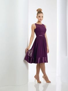 Cheap short bridesmaid dress, Buy Quality purple bridesmaid dresses directly from China bridesmaid dresses short Suppliers: Peacock Purple Bridesmaid Dress Short Chiffon Party Gowns Sleeveless A Line Short Bridesmaid Dresses Bari Jay Bridesmaid Dresses, Prom Dresses, Wedding Dresses, Chiffon Dresses, Bridesmaid Color, Dresses 2013, Girls Dresses, Fall Dresses, Wedding Bridesmaids