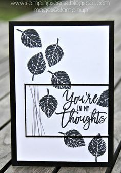 Stampin Up Thoughtful Branches for The Grand Vacation Blog Hop